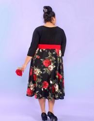 Вечернее платье Зимняя роза