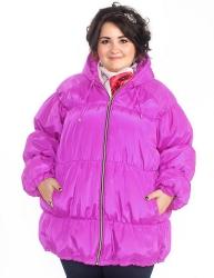 Утеплённая куртка Акварель