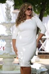 Платье Блэк стежка